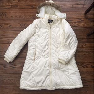 Totes Jackets & Blazers - Totes off-white down puffer coat