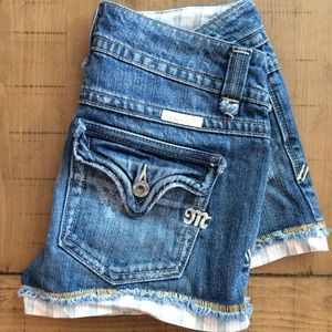 Miss Me Pants - Miss Me Glendora denim shorts