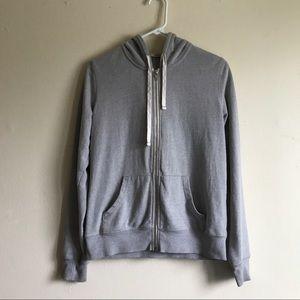 Abbot main Tops - Plain grey hoodie