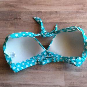 56f10cdb1c9ab Venus Swimwear Swim - Polka Dot Push Up Halter Bikini Top DD XL NWOT