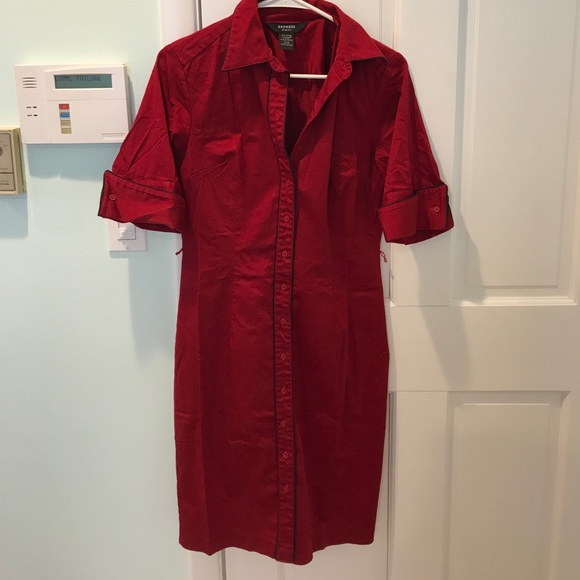 Cranberry Red for Office Dress
