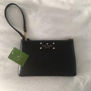 Kate Spade Linet Wellesley Bag in Black