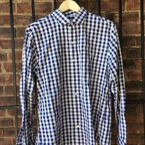 Zachary Prell Other - Men's medium blue checkered shirt
