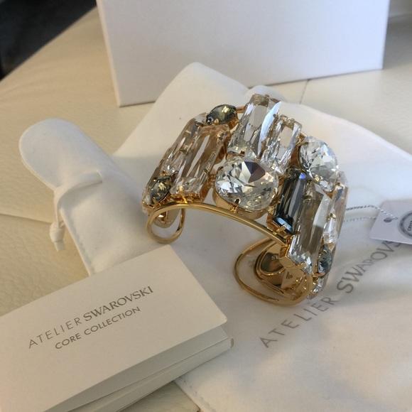 2a1983ba7490f New!!! Authentic Atelier Swarovski Core Nile Cuff