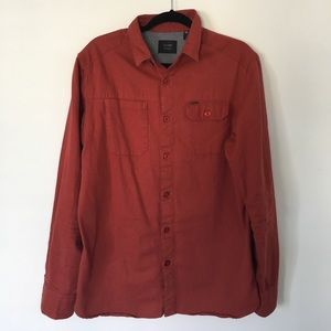 Globe Other - Burnt Sienna Men's Globe Shirt