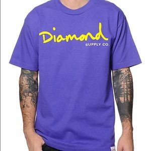Diamond Supply Co. Other - NWOT Diamond Supply Co Purple T-shirt