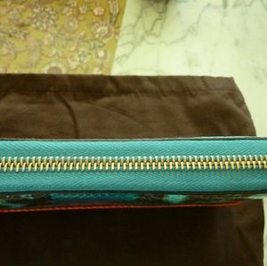 4744f4e96633aa Gucci Bags   Python Bamboo Tassel Wallet Teal Orange Nwt   Poshmark