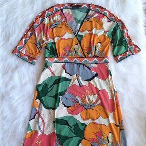 BCBG Max Azria floral dress