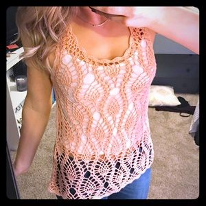 Que Tops - Knit tank top - rose