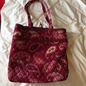 Red Paisley Vera Bradley Tote bag
