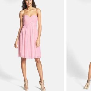 Donna Morgan Dresses & Skirts - Donna Morgan coral colored strapless dress