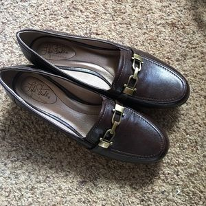 Life Stride Shoes - Life Stride Perfect Brown Loafers