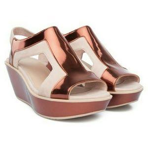 Camper Shoes - Camper T-strap Wedge