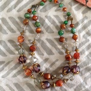 Vintage Jewelry - Vintage Autumn 🍂 Statement Necklace