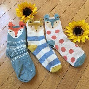 Happy Socks Accessories - 🦊🦊 Adorable comfy Fox socks