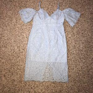 Bardot Dresses & Skirts - Bardot Lace Off the Shoulder Dress