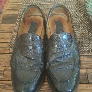 Mezlan Other - Mens size 8.5 mezlan crocodile loafers