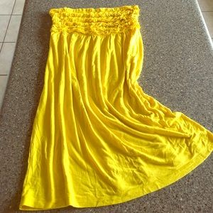 Nicole Miller Dresses & Skirts - Vibrant Yellow Nicole Miller