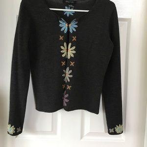 Etcetera floral cardigan