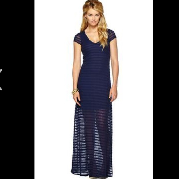 81f967ee29c Lilly Pulitzer Dresses   Skirts - Lilly Pulitzer Navy Sexy Maxi Dress
