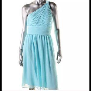 Donna Morgan Dresses & Skirts - NWT bridesmaid chiffon dress one shoulder Donna M