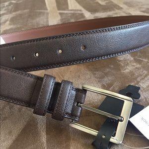 Bosca Other - NWT Men's brown belt size 38