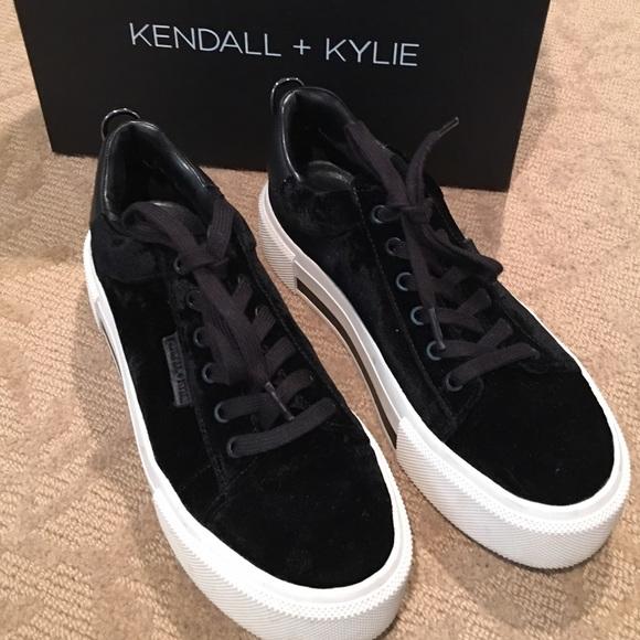 Kendall Kylie Velvet Sneaker