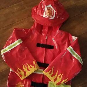 Kidorable Other - Fireman Raincoat ADORABLE EUC