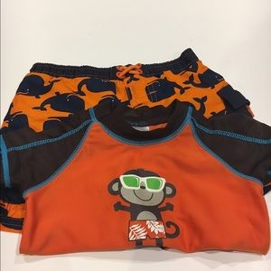 Swim suit - toddler size almost new