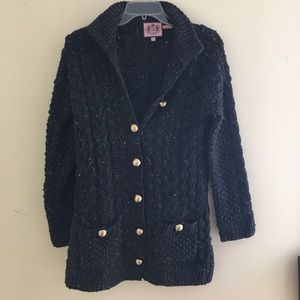 Juicy Couture Sweaters - Juicy Couture long knit cardigan!