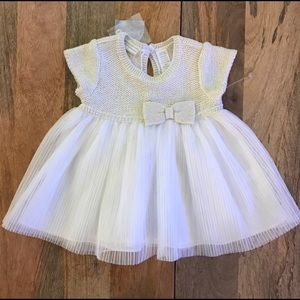 First Impressions Other - FIRST IMPRESSIONS ANGEL WHITE DRESS ~ NWT