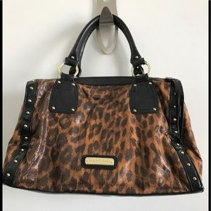 Steve Madden leopard cheetah animal print used