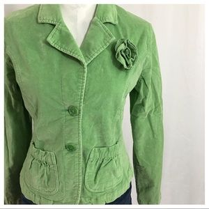Tulle Anthropologie Corduroy Jacket