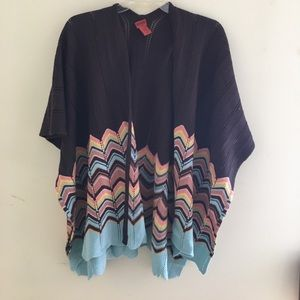 Missoni for Target Sweaters - Missoni for Target poncho!
