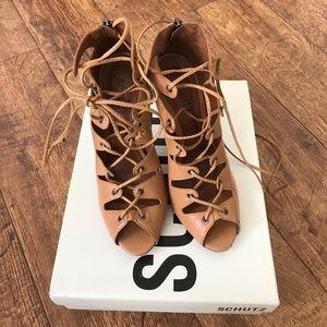 SCHUTZ Shoes - Schutz lace up heels