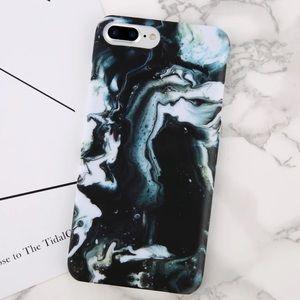 Accessories - LUXURIOUS IPHONE 7 8 PLUS CASE  DARK MARBLE