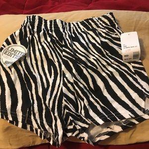Soffe Pants - NWT Zebra Soffe shorts