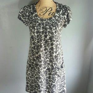 🔵 Anthropologie Hazel Floral Sweater Dress
