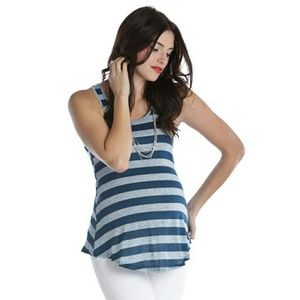 Lilac Clothing Tops - Adorable Maternity Tank Blue Lilac Clothing S NEW