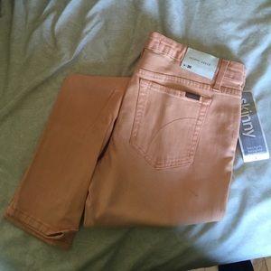 Joe's Peach Sz 30 Skinny Ankle Jeans