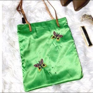 NWT Dolce&Gabbana Embroidered Bag
