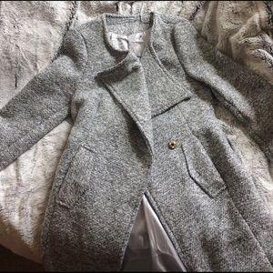 White wool jacket