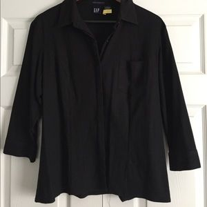 Gap fitted button down shirt sz L