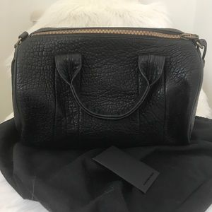 Alexander Wang Handbags - NEW ALEXANDER WANG Rocco black brass hardware