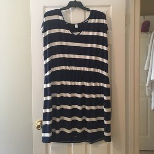 Super cute stretchy striped dress