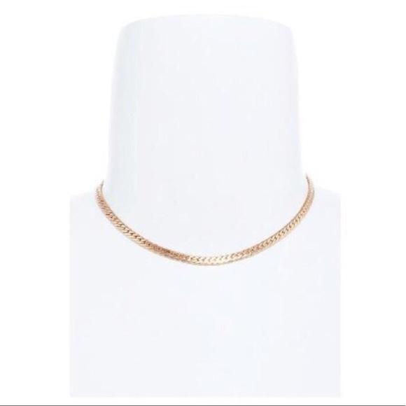 "Tanya Kara Jewelry Jewelry - ""Staple Piece"" Gold Classic Choker Necklace"