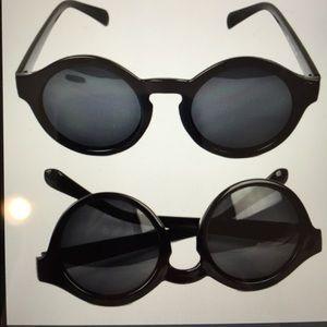 Black Fashion Retro Women's Sunglasses /New