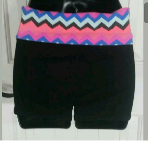 PINK Victorias Secret Yoga Shorts Womens XS From