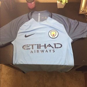 Nike Other - Aeroswift Manchester City Nike Soccer Jersey 16/17