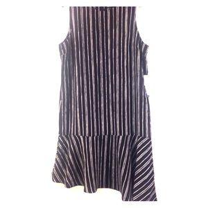 who what wear Dresses & Skirts - NWT tank dress with slight ruffle hem on trend!